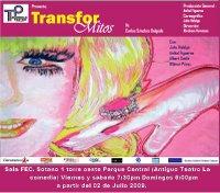 PANDILLA TEATRO NOS TRAE TRANSFOR-MITOS
